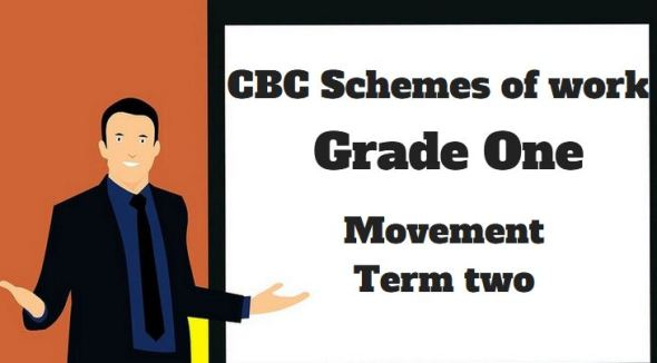 Movement Activities term 2, grade one, cbc schemes of work