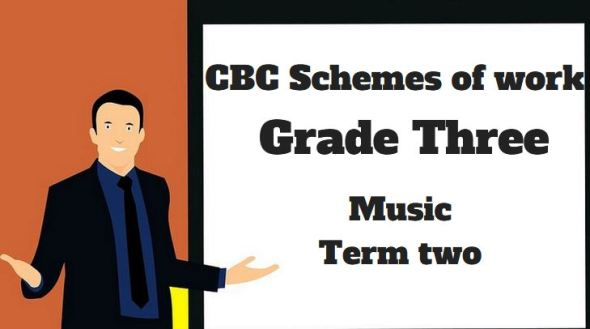 Music term 2, grade three, cbc schemes of work