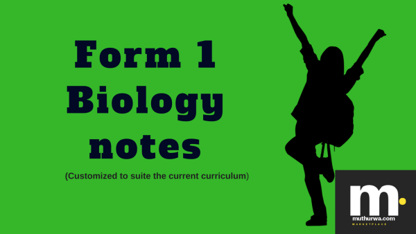 kcse four one biology notes