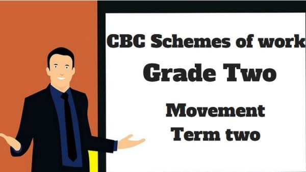movement term 2, grade two, cbc schemes of work