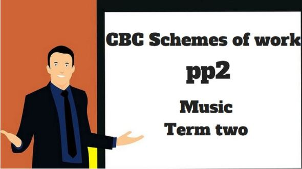 music pp2 term two, cbc schemes of work