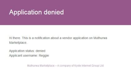 muthurwa marketplace denial reasons