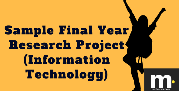 sample final year research project in information technology