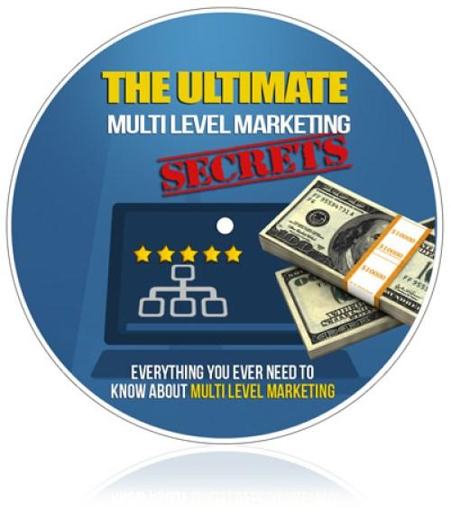 Ultimate Multilevel Marketing Secrets (eBook)