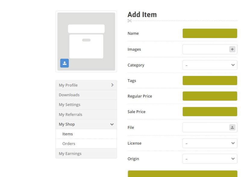 how to upload items at muthurwa marketplace