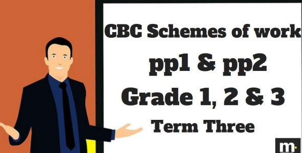 PP1 CRE Term 3 CBC schemes of work from KICD new Curriculum, pdf download