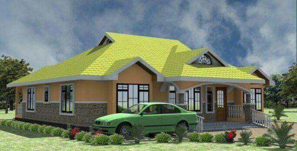 Free 3 Bedroom house plan in Kenya