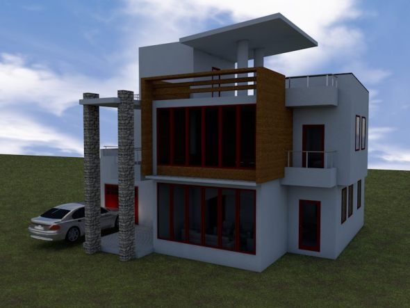 Exquisite Residential Villa Apartment House Plan in kenya