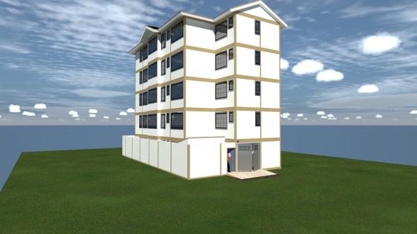 Apartments house plan