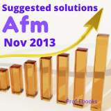 CPA Advanced financial management questions and answers (Nov 2013)