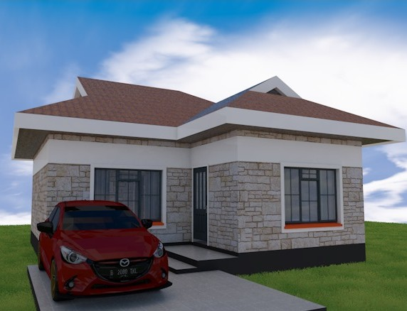 2 Bedroom Superb House Plan