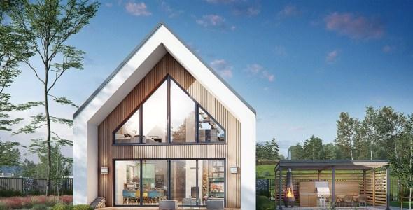 3 Bedroom Attic House Plan