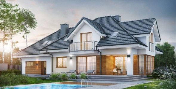 3 Bedroom Mansion House Plan