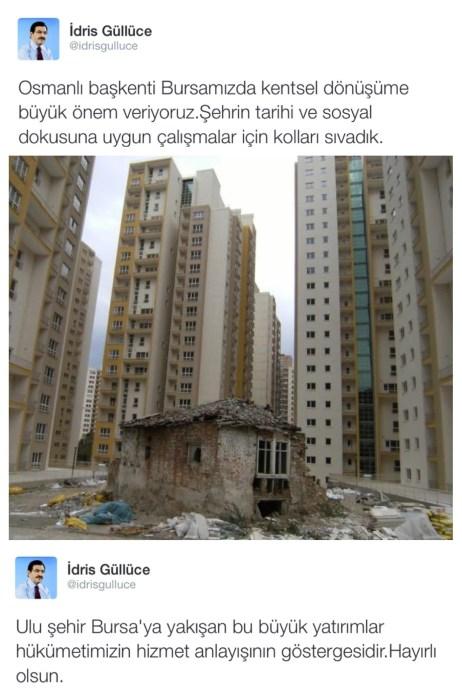 Aaaa, araya bir resim girmiş. Hem de Bursa'dan!