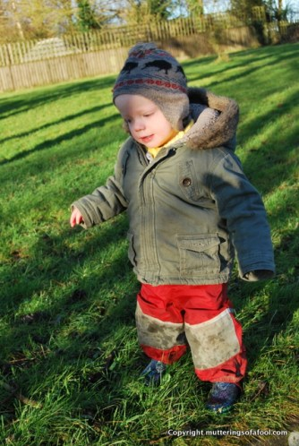 Henry ready for the cold