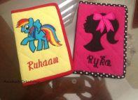 Rakhi Gift: Personalised Passport Covers by Aaisha's Creations