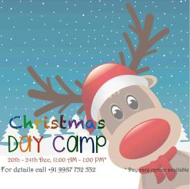 Christmas Day Camp @ Little Brooks Inviting all the young ones to participate in the 5 day christmas camp full of fun, learning and creativity. Story telling | Puppet Show | Lego Play | Art & Crafts | Dramatics When & Where Dec 20-24, Little Brooks, Chembur E