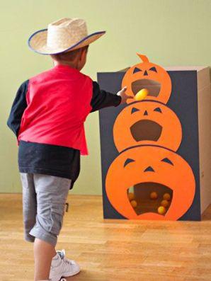 Halloween Party Game Pumpkin Toss