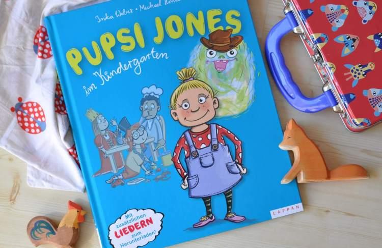 Pupsi-Jones im Kindergarten #buchtipp #vorlesen #kinderbuch #buch #pups #pupsen