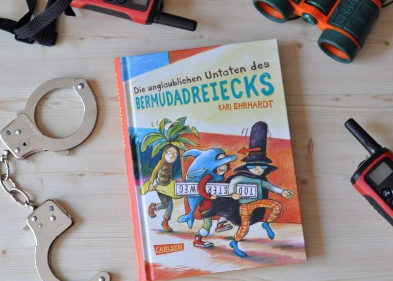 Die unglaublichen Untaten des Bermudadreiecks - Abenteuer Buch für Kinder ab 9 Jahren #lesen #kinderbuch #buch #detektiv