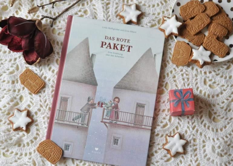 Weihnachten - Das rote Paket - Eine Erzählung vom Schenken #weihnachten #kinderbuch #lesen #vorlesen #advent