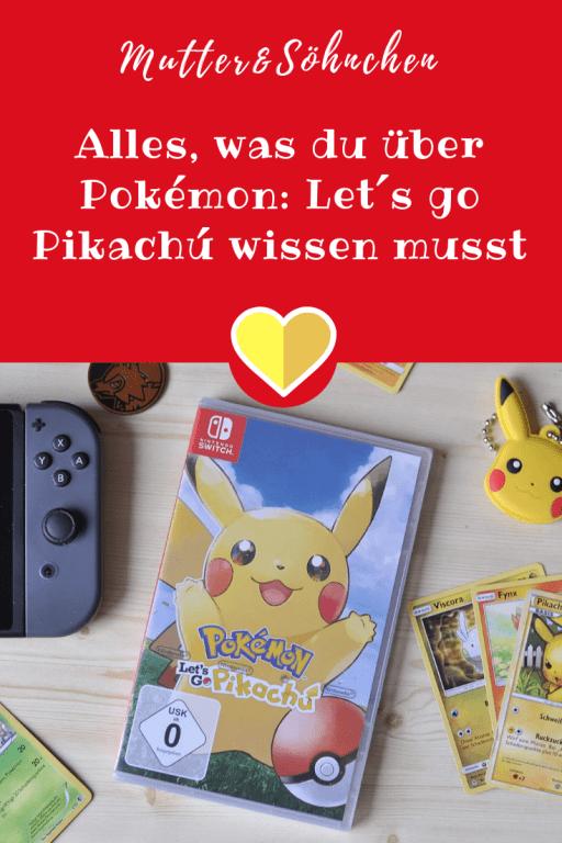 Pokémon Lets go Pikachú für die Nintendo Switch - EInmal selbst Ash Ketchum sein und der weltbeste Pokémon-Trainer werden. Wir haben das Spiel ausprobiert. #nintendo #switch #pokemon #pikachu #fangen #spielen #game #medien #schulkind