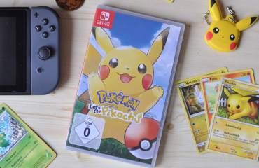 Pokémon: Let´s go Pikachú! für die Nintendo Switch #Verlosung