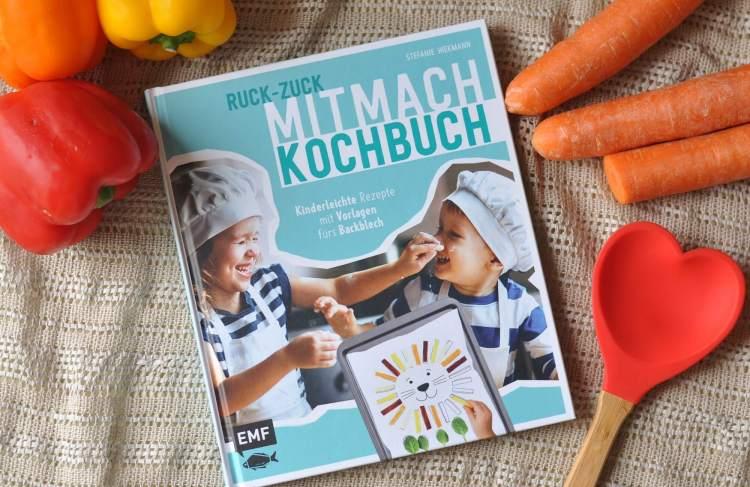 35 Rezepte für den Backofen: Ruck-zuck Mitmach-Kochbuch