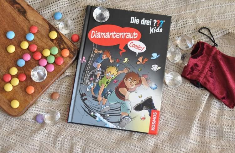 Die drei ??? Kids Comic – Diamantenraub