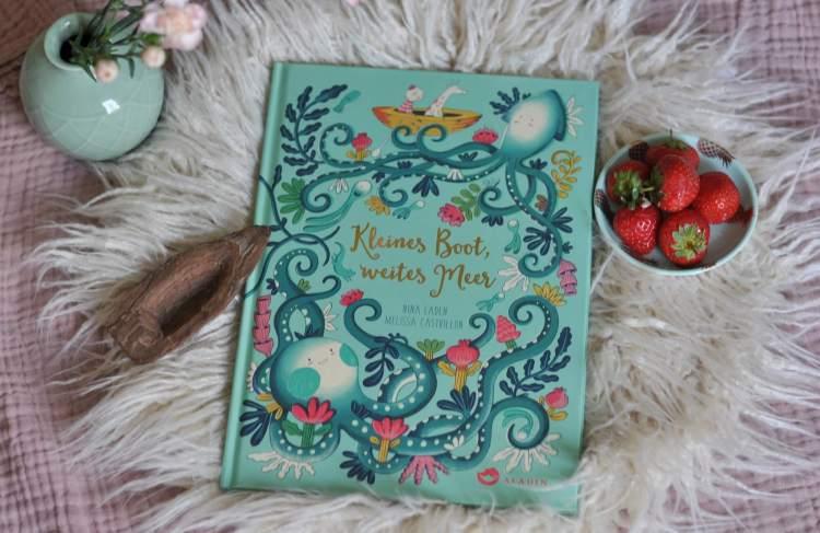 Farbenfrohes Bilderbuch: Kleines Boot, weites Meer
