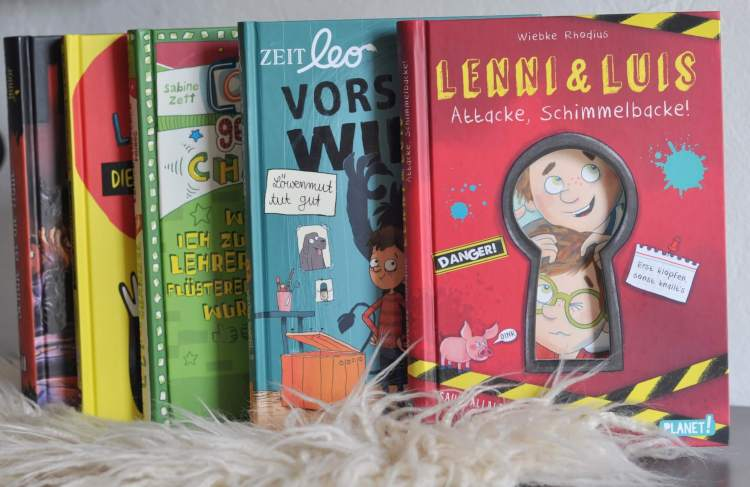 Fünf lustige Bücher für Jungs und Lesemuffel ab 8 Jahren