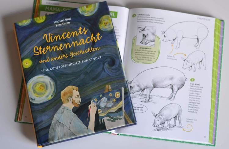 Kunst für Kinder – Zeichenschule und Kunstgeschichte