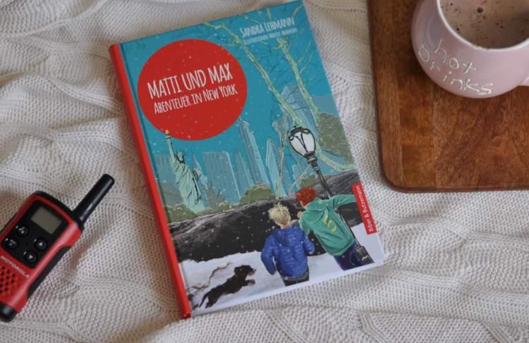 Abenteuerlicher Kunstraub: Matti und Max in New York