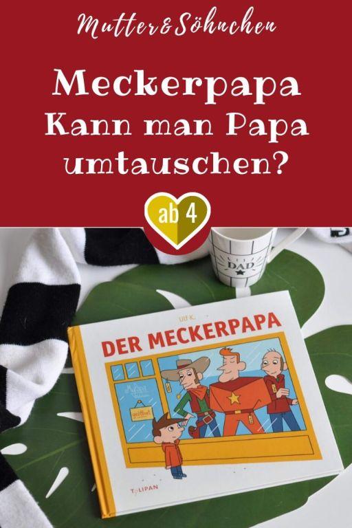 So manches Kind hat vielleicht schon einmal darüber nachgedacht, warum Mama sich ausgerechnet einen Meckerpapa ausgesucht hat. Vielleicht waren die Piraten, Cowboys und Ritter schon ausverkauft? Doch vergleicht man den herkömmlichen Meckerpapa mit diesen Superstars, ist er am Ende doch eine gar nicht so schlechte Wahl. #papa #vater #väter #buch #bilderbuch #lesen #vaterschaft #vorlesen #meckern #schimpfen