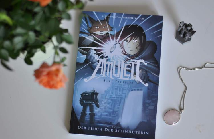 Fantasy Graphic Novel: Amulett 2 – Der Fluch der Steinhüterin