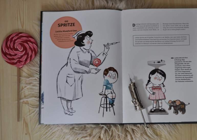 Unsere Welt steckt voller genialer Erfindungen und nicht wenige davon entsprangen den klugen Köpfen von Frauen! So verdanken wir zum Beispiel einer Hollywood-Schauspielerin, dass wir heute das WLAN nutzen können.  #sachbuch #bilderbuch #grundschule #erfindung #erfinderinnen #frauen #idee #patent #geschichte