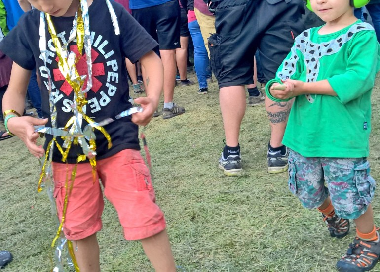 Festival mit Kindern