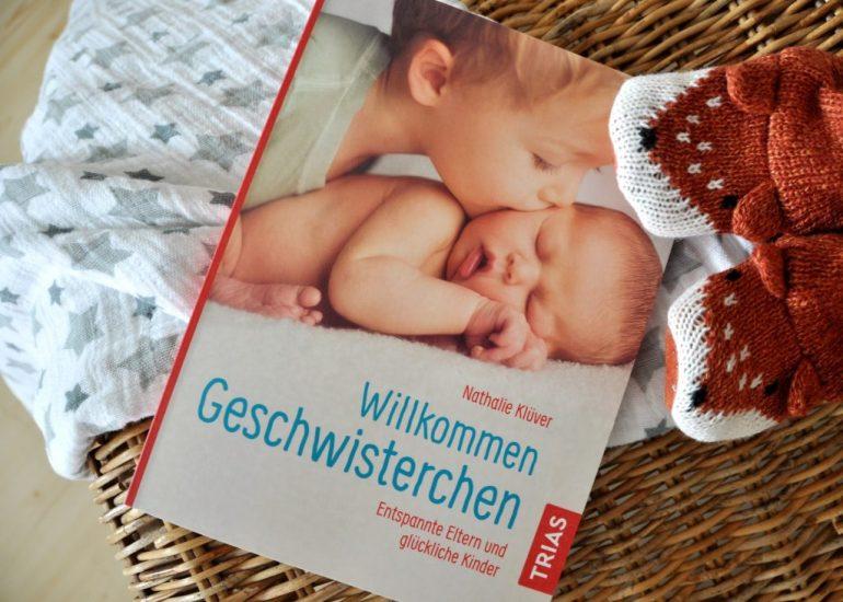 Willkommen Geschwisterchen, ein Ratgeber für werdende Zweifach-Eltern, Entspannte Eltern und glückliche Kindern, mit vielen Beispielen aus dem Familienleben, mein Buch-Tipp auf Mutter&Söhnchen #Geschwister #Rezension