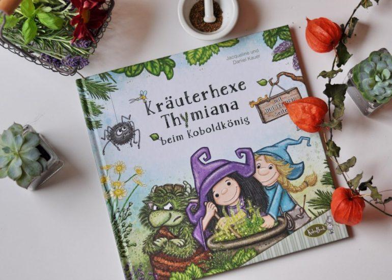 Kräuerhexe Thymiana und der Koboldkönig, Bilderbuch zum Vorlesen, mehr Bücher zu Hexen und magischen Wesen findet ihr auf Mutter&Söhnchen #Buchblogger #Kinderbuch #Hexe