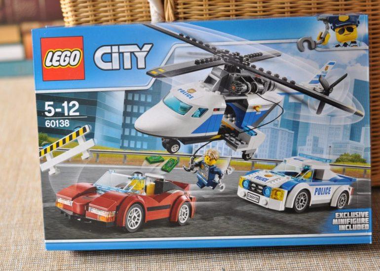LEGo City Rasante Verfolgunggsjagd