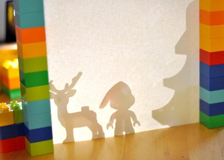 Lego Duplo Schattenspiel - Weihanchten mit Lego, Spiele und Bastelideen mit Lego auf Mutter&Söhnchen