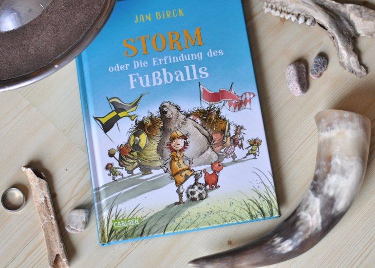 Storm und die Erfindung des Fußballs #Kinderbuch #Junge #Wikinger #Fußball #WM #