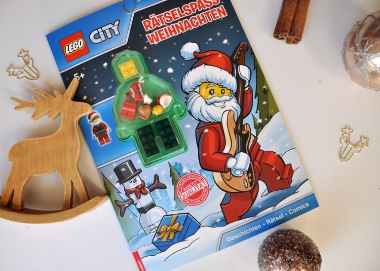 LEGO Rätselspass Weihnachten ab 5 Jahren, Kinderbuch für Rätselfreunde und Leseanfänger, mehr Buchtipps für Weihnachten auf dem Blog