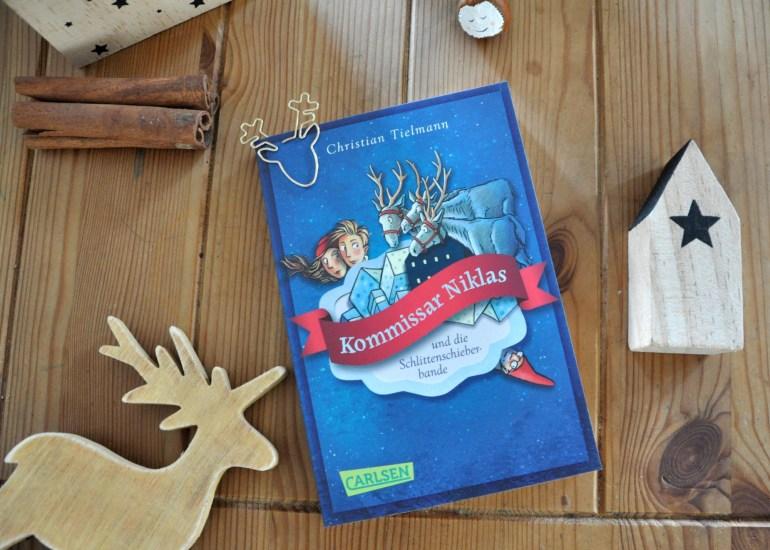Kommissar Niklas und die Schlittenschieberbande, Krimi für Kinder, Weihnachtsbuch zum Vorlesen mit ganz viel Spannung. Noch mehr Kidnerbücher für die Vorweihnachtszeit ab 3 Jahren auf dem Blog
