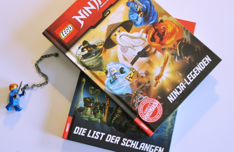 Leseabenteuer für Ninjago-Fans #Gewinnspiel