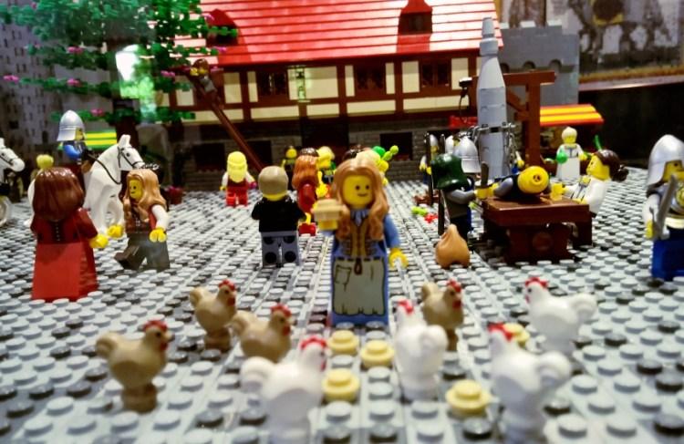 Kultur für Kinder: Lego Zeitreise in Frankfurt