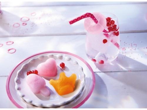 Silikonförmchen für Eiswürfel