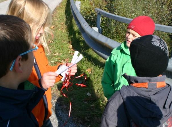 Idee für den Kindergeburtstag: Schatzsuche