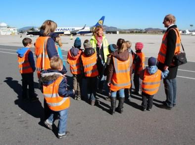 Idee für den Kindergeburtsag: Führung am Flughafen