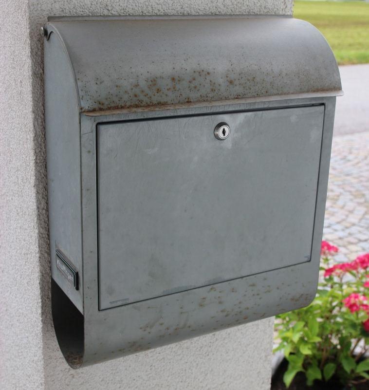 Briefkasten - vorher